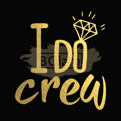 Tattoo Sticker Bridal - I Do Crew