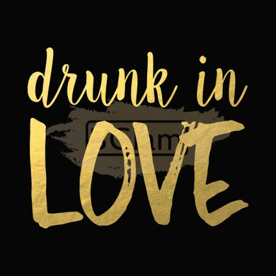 Tattoo Sticker Gold - Drunk in Love