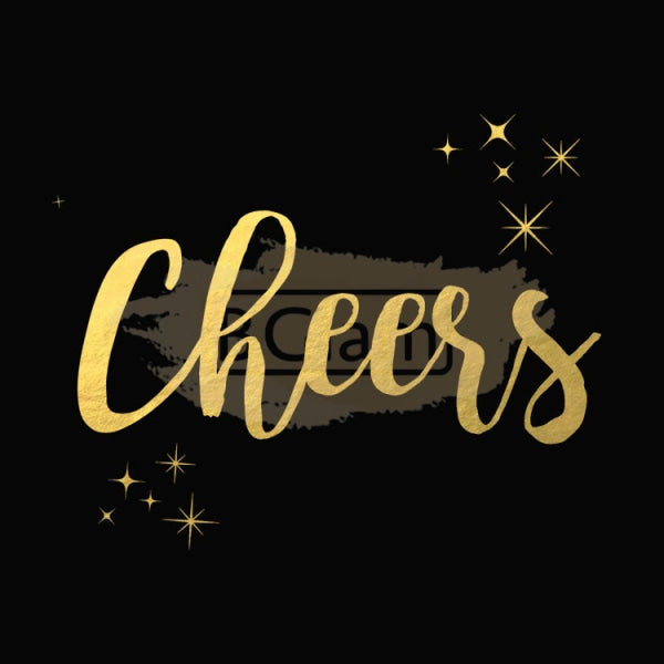 Tattoo Sticker Gold - Cheers
