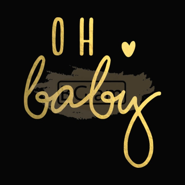 Tattoo Sticker Gold - Oh Baby