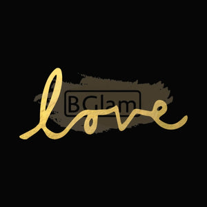 Tattoo Sticker Gold - Love B-022