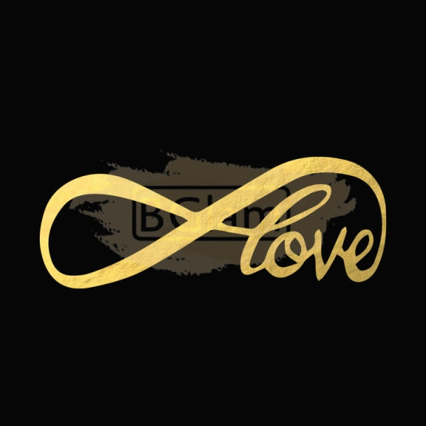 Tattoo Sticker Gold - Love B-023