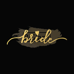 Tattoo Sticker Bridal - Bride B-025