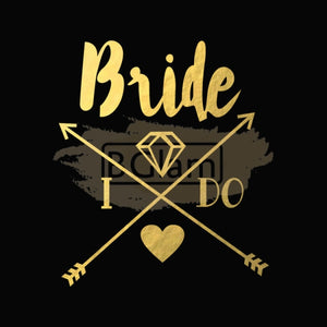 Tattoo Sticker Bridal - Bride I Do