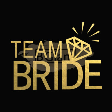 Tattoo Sticker Bridal - Team Bride B-028