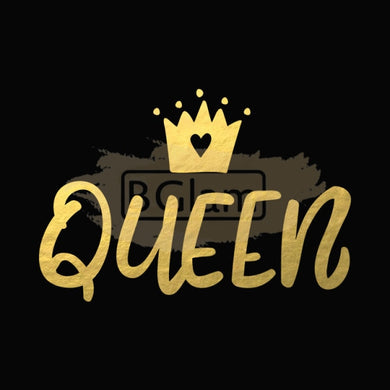 Tattoo Sticker Gold - Queen