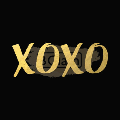 Tattoo Sticker Gold - XOXO