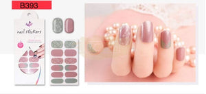 Euro series nail stickers - B393