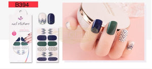 Euro series nail stickers - B394