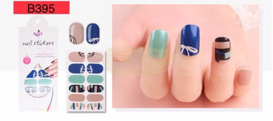 Euro series nail stickers - B395