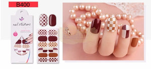 Euro series nail stickers - B400