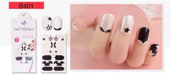 Nail Stickers - Euro series nail stickers - B401
