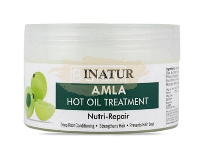 Amla Hair Mask Hot Oil Treatment - Deep Root Conditioning, Strengthens Hair & Prevents Hair Loss