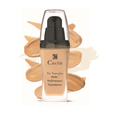 Cecile Foundation - No Transfer Matte Foundation