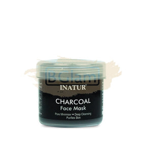 Inatur Charcoal Mask Detoxifying for Oily/Combination Skin Type