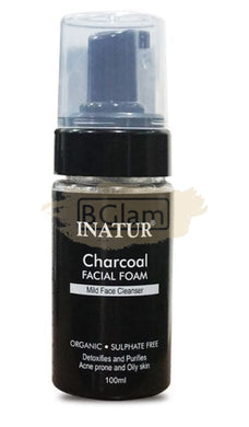 Inatur Charcoal Facial Foam