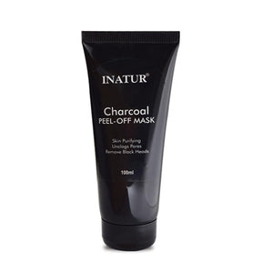 Inatur Charcoal Peel Off Mask Deeply purifies Suits Oily And Combination
