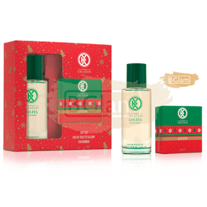 Creation Gift Set Women (100gr Soap + 75ml EDT) Lolita