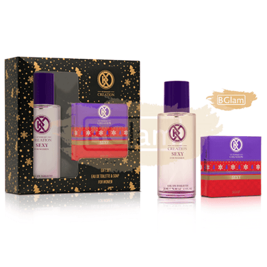 Creation Gift Set Women (100gr Soap + 75ml EDT) Sexy