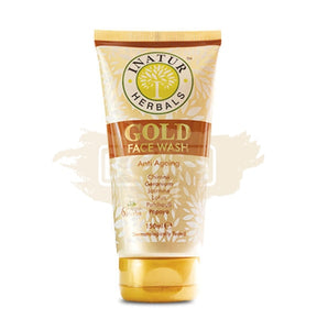 Inatur Face Wash Gold (Normal/Dry and Mature skin)
