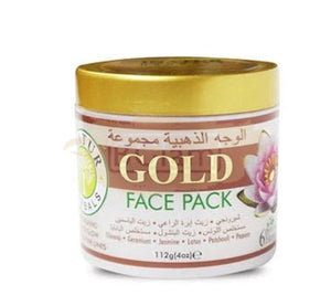 Inatur Face Pack - Gold (Skin Renewal & Hydration)