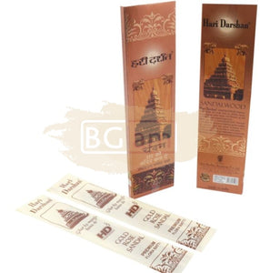 Hari Darshan Sandalwood Incense Sticks