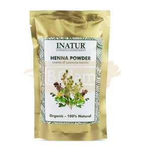 Inatur Henna Powder - Organic & 100% Natural
