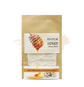Honey Sheet Mask with Honey and Oats extracts suits senstive/All skin types