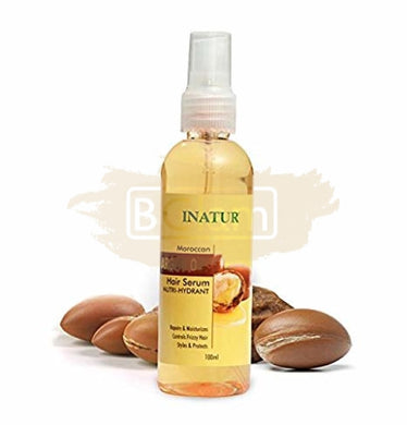 Moroccan Argan Oil Hair Serum Repairs, Moisturises,styles &protects dry,frizziy and unmanageble hair
