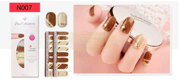 Nail Stickers - High Quality nail stickers - N007