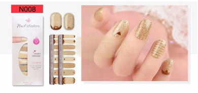 Nail Stickers - High Quality nail stickers - N008