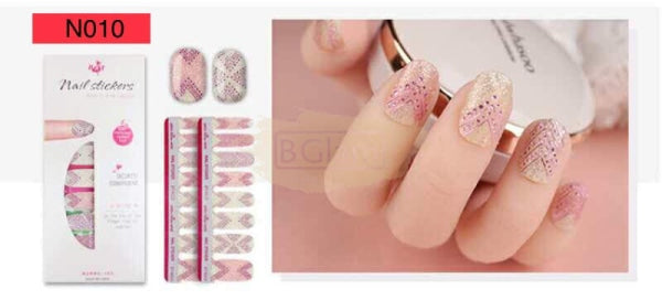 High Quality nail stickers - N010