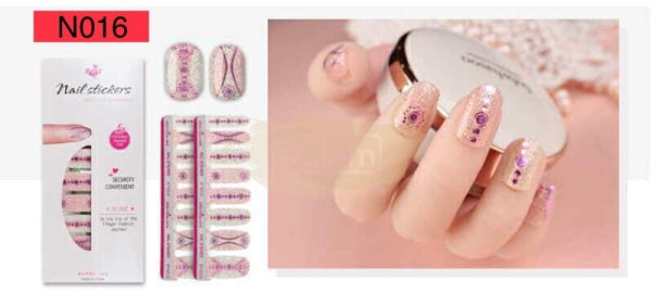 Nail Stickers - High Quality nail stickers - N016