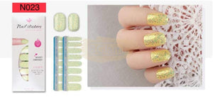 Nail Stickers - High Quality nail stickers - N023