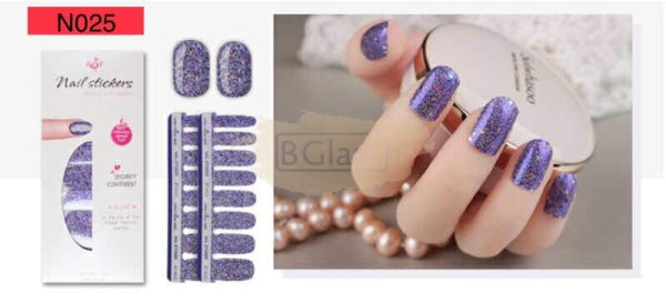 Nail Stickers - High Quality nail stickers - N025