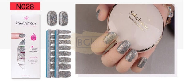 Nail Stickers - High Quality nail stickers - N028