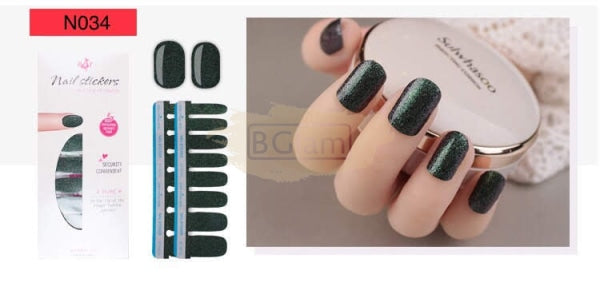 Nail Stickers - High Quality nail stickers - N034