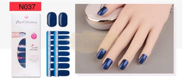 Nail Stickers - High Quality nail stickers - N037