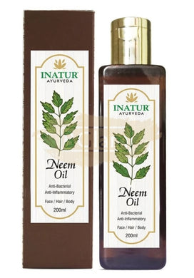 Inatur Oil - Neem Oil (Face, Hair & Body. Anti-Inflammatory)
