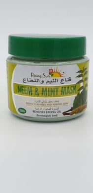 Rising Sun Mask - Neem & Mint Mask 300g (Removes excess Oil)