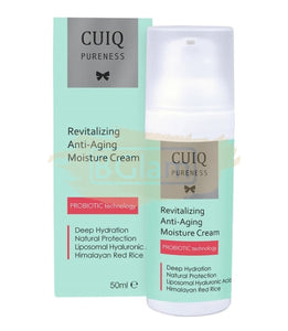 CUIQ Face Cream - Revitalizing Anti-Aging Moisture Cream