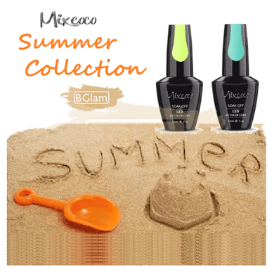Mixcoco Soak-Off UV Gel Nail Polish Summer Collection