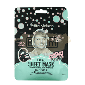 Petite Maison Sheet Mask - Purifying (Charcoal)