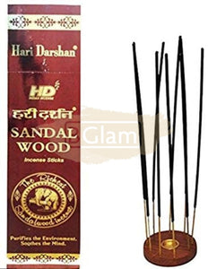 Hari Darshan Sandalwood Tall Hex Agarbatti