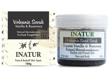 Inatur Scrub - Volcanic Sand (Great for Oily Skin/Acne Prone)