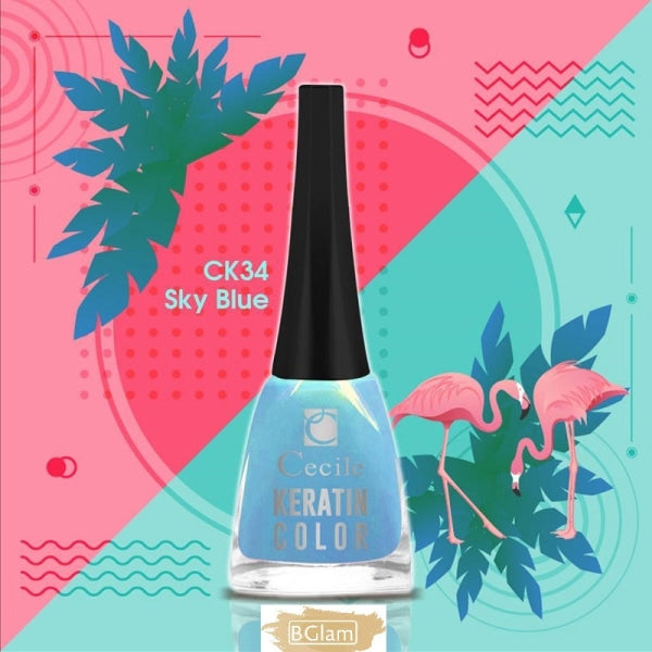 Cecile Nail Polish - Keratin Summer Color Nail Polish