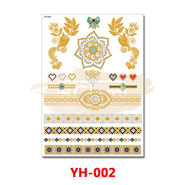 Tattoo Sticker - YH002