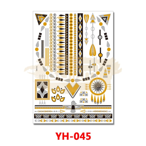 Tattoo Sticker - YH045