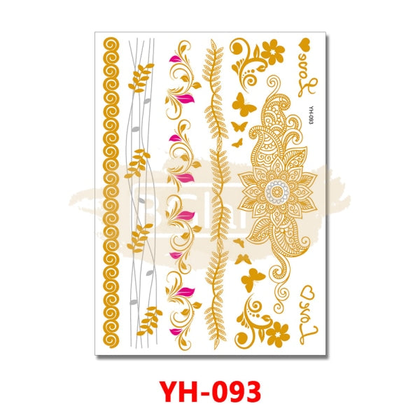 Tattoo Sticker - YH093