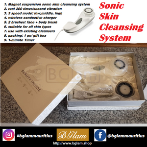 Beauty Accessory- Sonic Skin Cleansing System